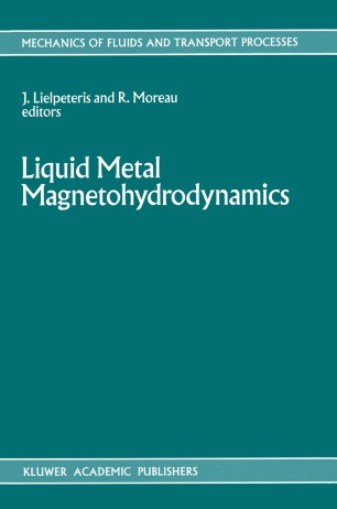Liquid Metal Magnetohydrodynamics | SpringerLink