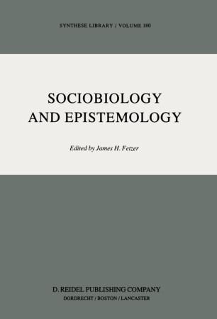 Sociobiology and Epistemology
