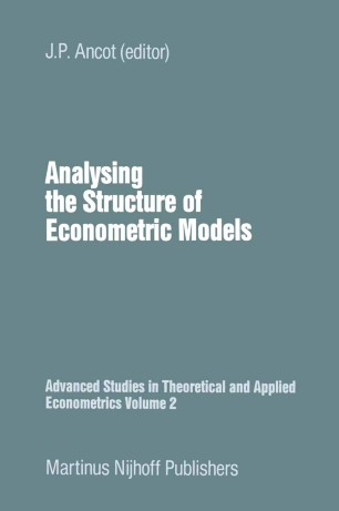 Analysing the Structure of Econometric Models