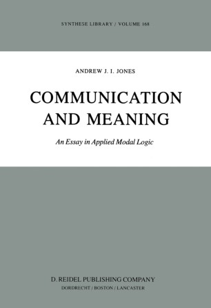 Communication and Meaning