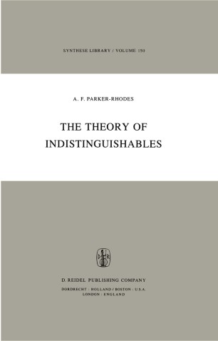 The Theory of Indistinguishables