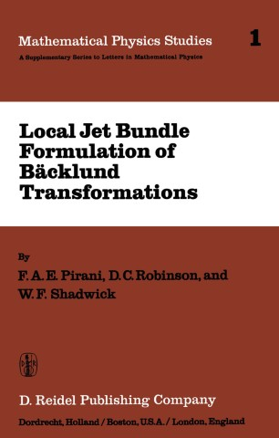 Local Jet Bundle Formulation of Bäcklund Transformations