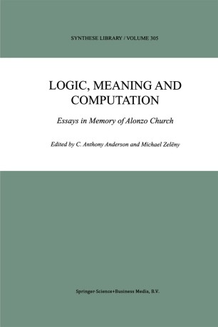 Logic, Meaning and Computation