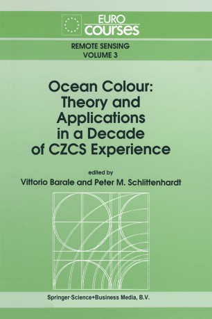 Ocean Colour: Theory and Applications in a Decade of CZCS Experience