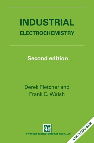 Industrial Electrochemistry   SpringerLink
