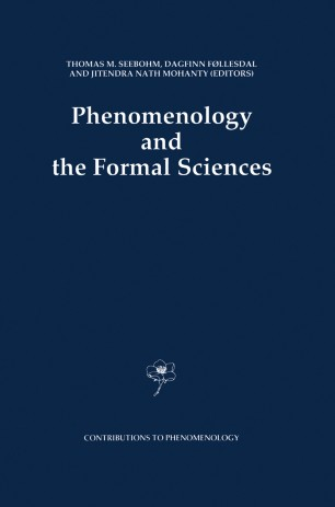 Phenomenology and the Formal Sciences