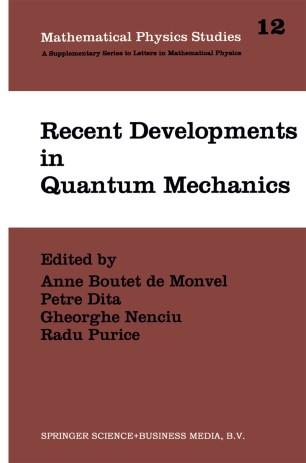 Recent Developments in Quantum Mechanics