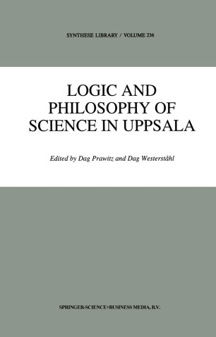 Logic and Philosophy of Science in Uppsala