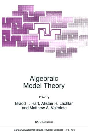 Algebraic Model Theory