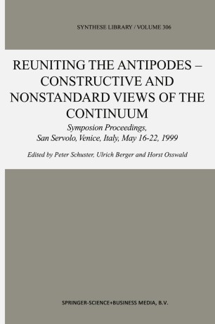 Reuniting the Antipodes — Constructive and Nonstandard Views of the Continuum