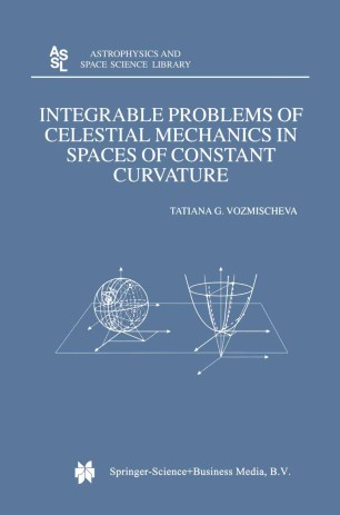 Integrable Problems of Celestial Mechanics in Spaces of Constant Curvature