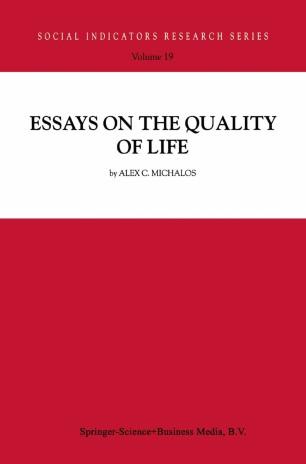 Quality of life essay