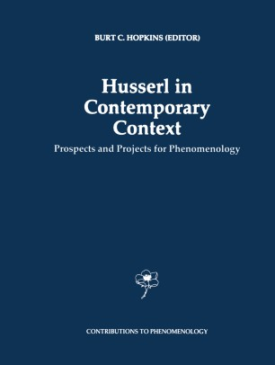 Husserl in Contemporary Context