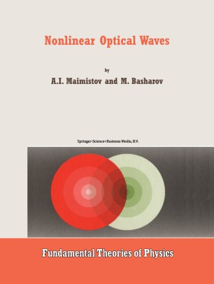 Nonlinear Optical Waves