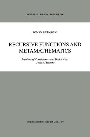 Recursive Functions and Metamathematics