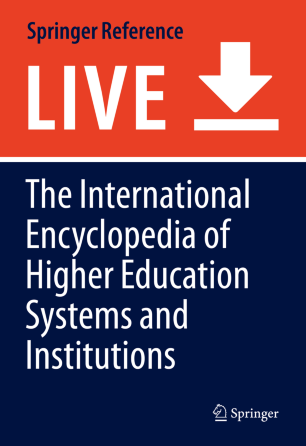 [Encyclopedia of International Higher Education Systems and Institutions]
