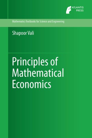 Principles of Mathematical Economics | SpringerLink