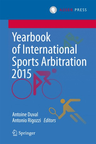 Yearbook of International Sports Arbitration 2015