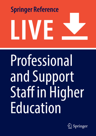 professional and support staff in higher education springerlink
