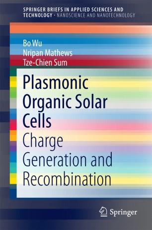 Plasmonic Organic Solar Cells