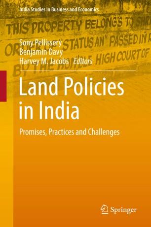 Land Policies in India | SpringerLink