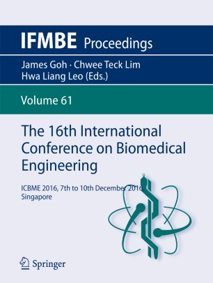 The 16th International Conference on Biomedical Engineering