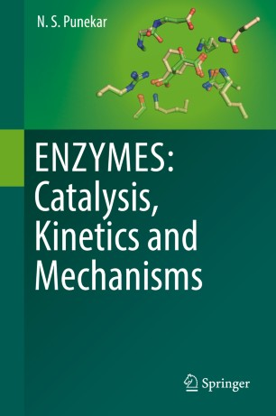 obálka ENZYMES: Catalysis, Kinetics and Mechanisms