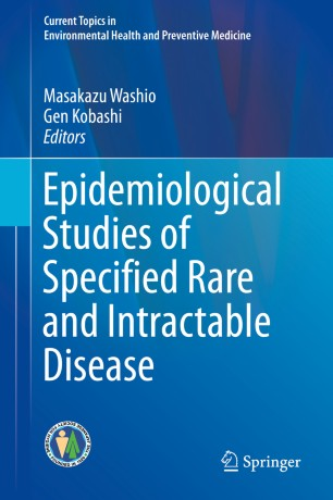 Epidemiological Studies Specified Rare Intractable 978-981-13-1096-6