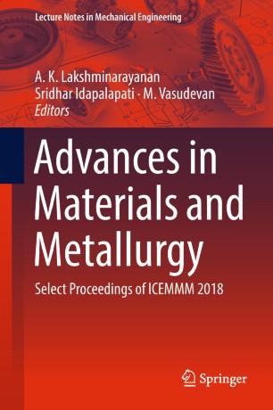Advances in Materials and Metallurgy | SpringerLink