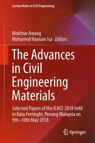 The Advances in Civil Engineering Materials | SpringerLink