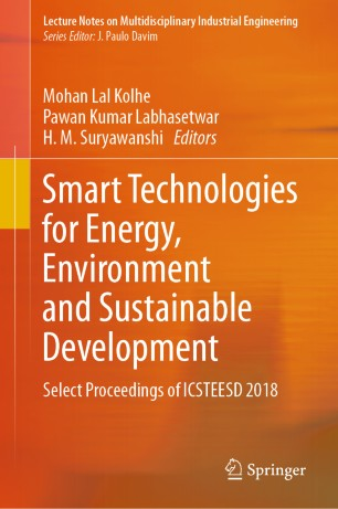 Smart Technologies for Energy, Environment and Sustainable