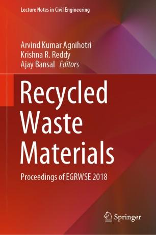 Recycled Waste Materials | SpringerLink