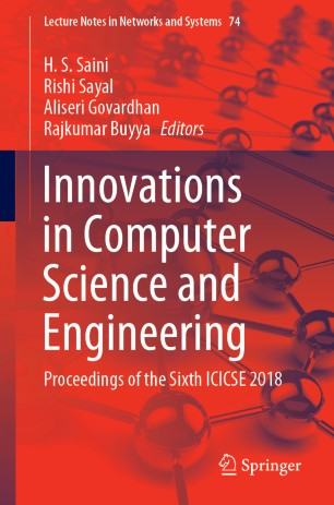 Innovations in Computer Science and Engineering | SpringerLink