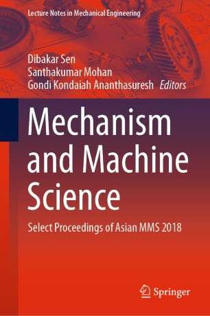 Front cover of Mechanism and Machine Science