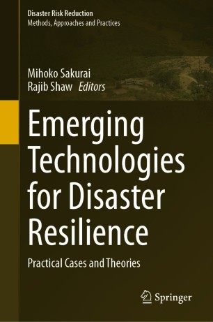 Front cover of Emerging Technologies for Disaster Resilience