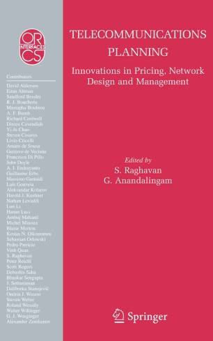 Telecommunications Planning: Innovations in Pricing, Network Design and Management :