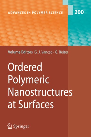 Ordered Polymeric Nanostructures at Surfaces :