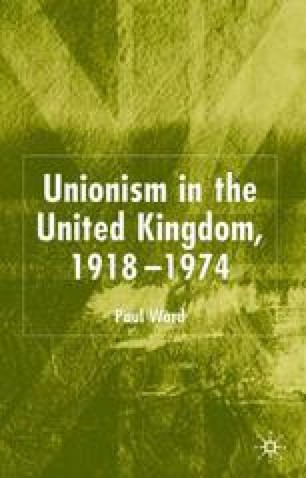 Unionism in the United Kingdom, 1918–1974