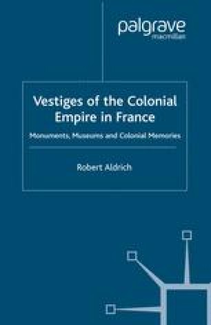 Vestiges of the Colonial Empire in France