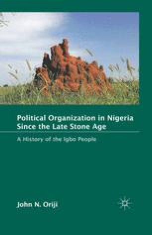 Developments In Igboland From The 1890s To The 1970s