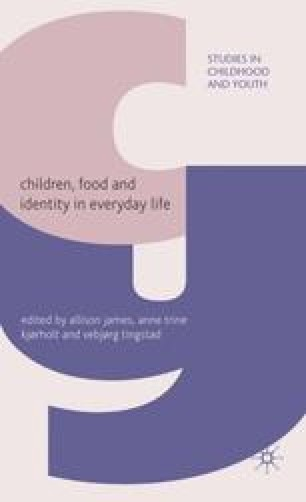 Children, Food and Identity in Everyday Life