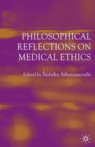 Philosophical Reflections on Medical Ethics
