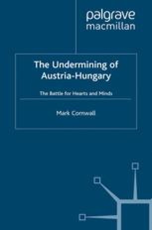 The Undermining of Austria-Hungary