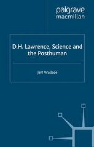 D.H. Lawrence, Science and the Posthuman