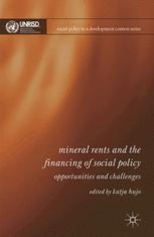 Mineral Wealth Development And Social Policy In Indonesia