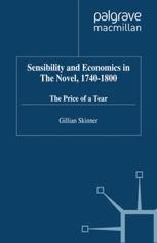 Sensibility and Economics in the Novel, 1740–1800