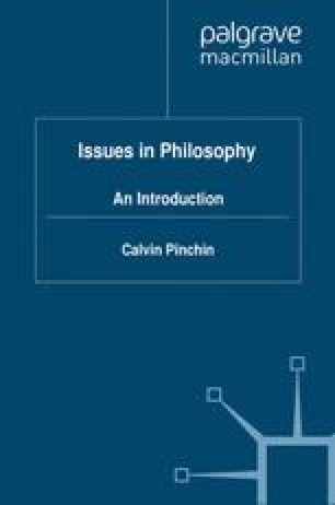 Issues in Philosophy