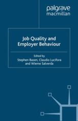 Job Quality and Employer Behaviour