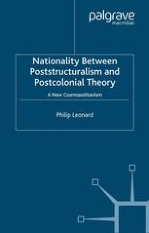 Nationality Between Poststructuralism and Postcolonial Theory