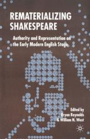 Rematerializing Shakespeare